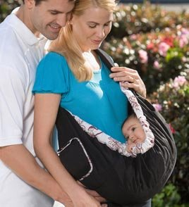 Babies sink down into bag slings so that their heads can curl forward onto their chests--dangerous for a little baby!
