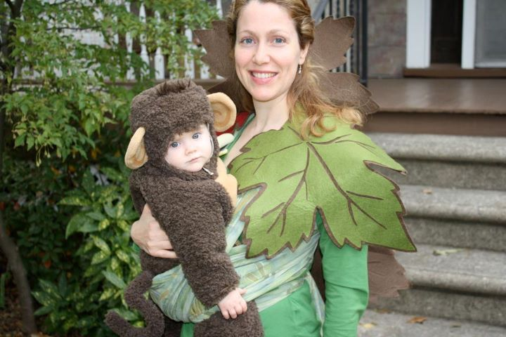 Babywearing Costume Contest Winner: Monkey in a Tree