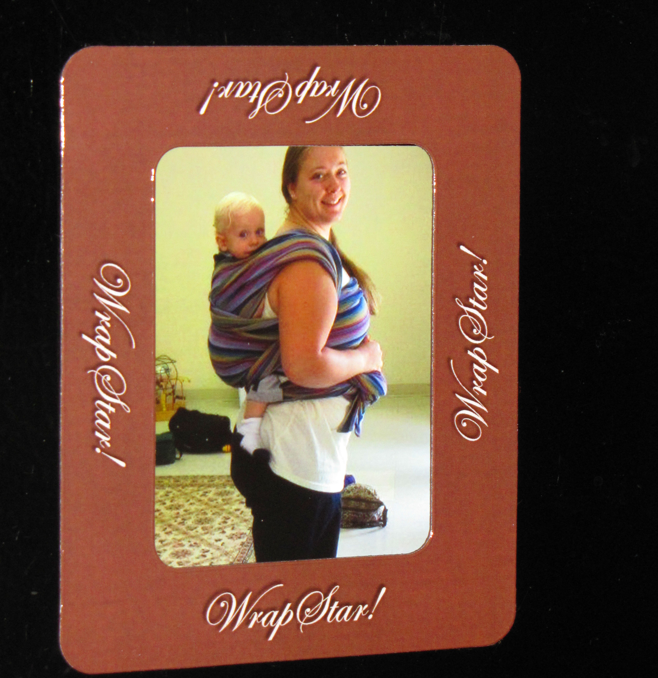 babywearing magnet picture frame
