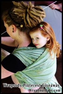 Wrapsody Breeze Wrap Pinterest Giveaway