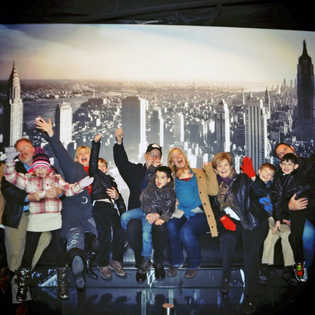 Babywearers International of NYC - top of the Rock!