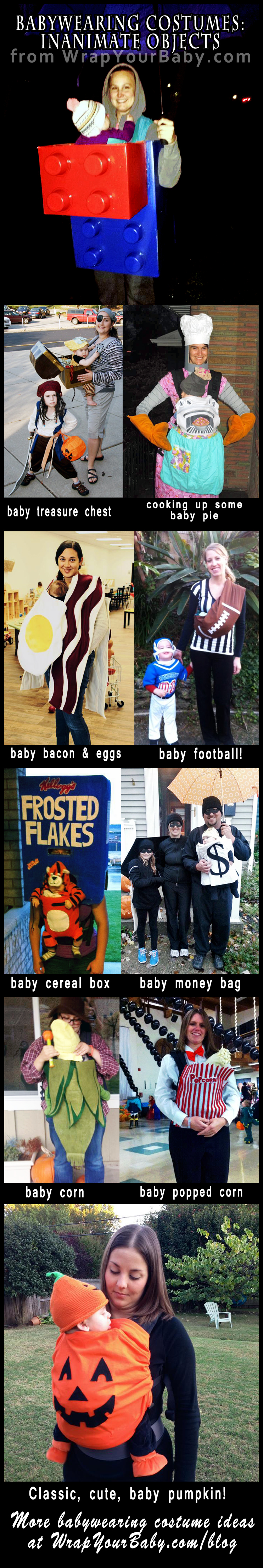 inanimate object babywearing costumes