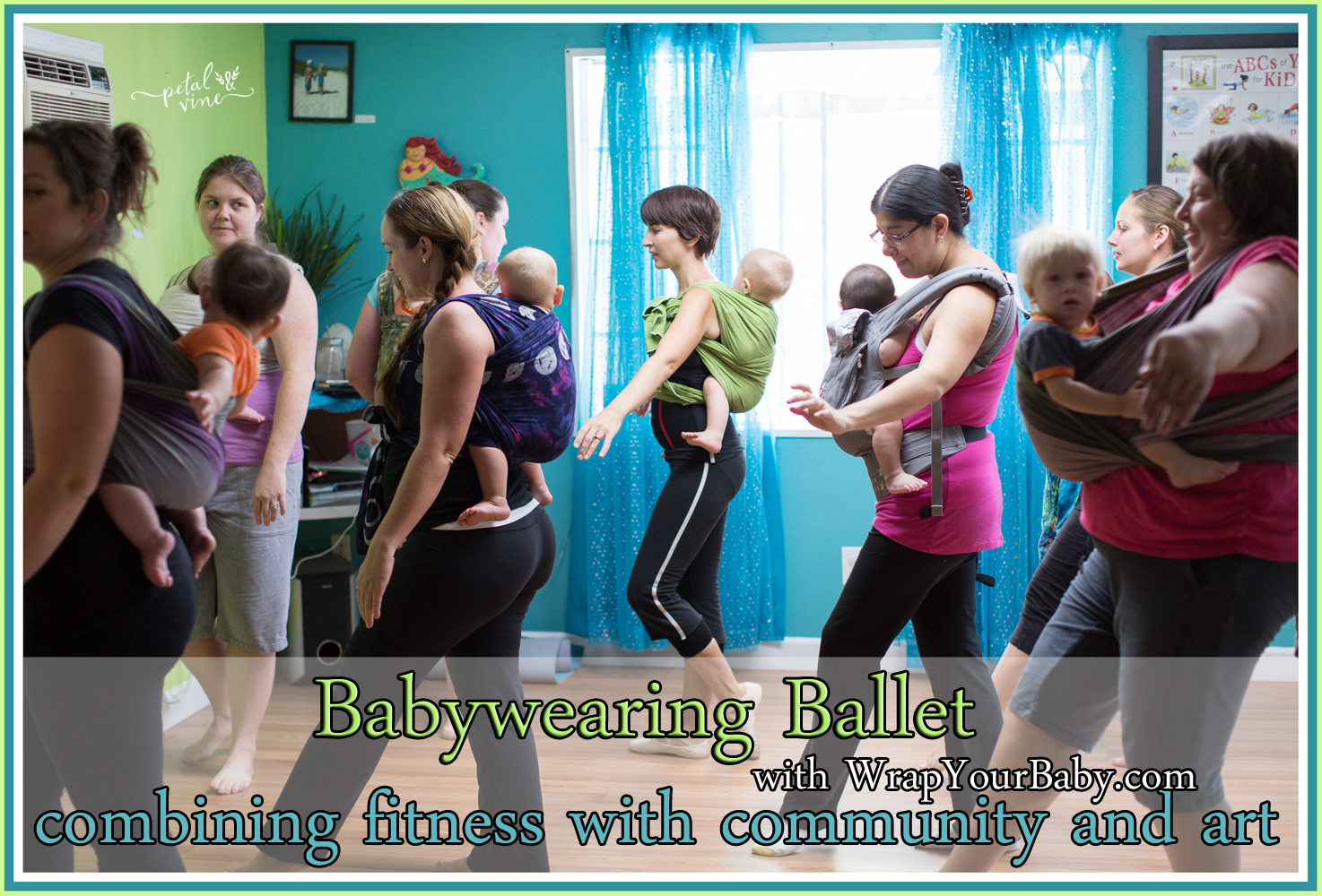 Making Fitness Fun for Moms with Babywearing Ballet Classes