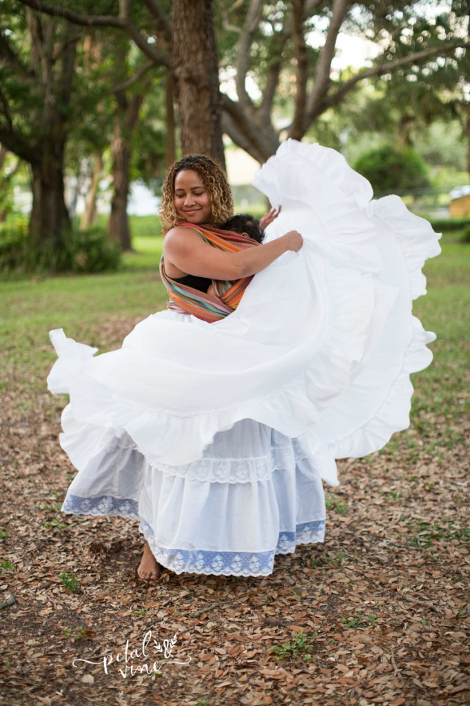Bomba Dance Skirts Swirling
