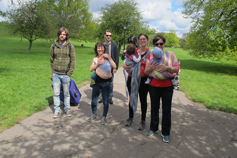 Intro to Babywearing Walk with Walking Mums in London