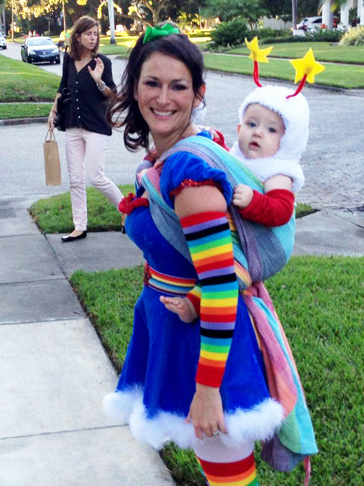 ... rainbow bright babywearing costume ...  sc 1 st  Best Kids Costumes : dolan duck costume  - Germanpascual.Com