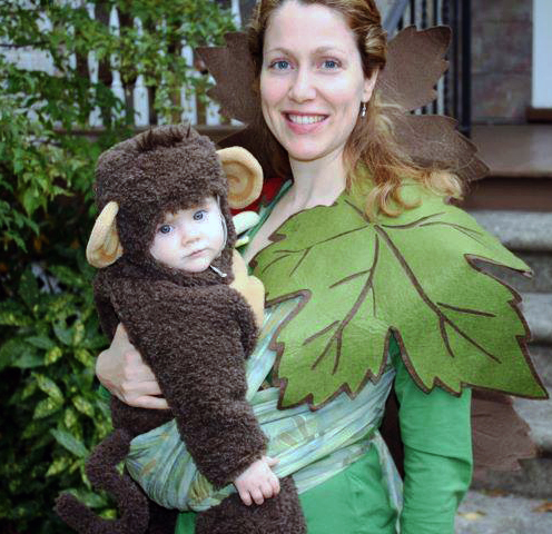 Monkey in a Mama Tree Babywearing Costume  sc 1 st  Wrap Your Baby & Babywearing Halloween Contest 2015 - Wrap Your Baby