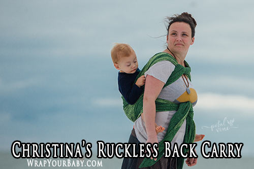 Christina's Ruckless Back Carry (CRBC)