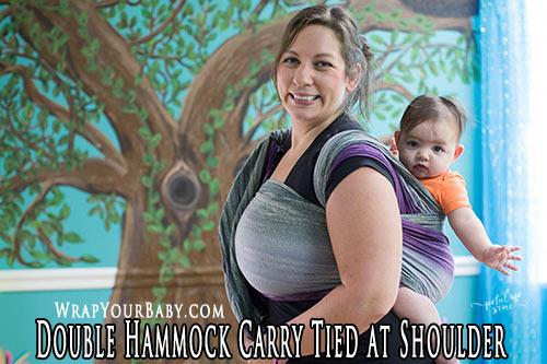 Double Hammock TAS (tied at shoulder)