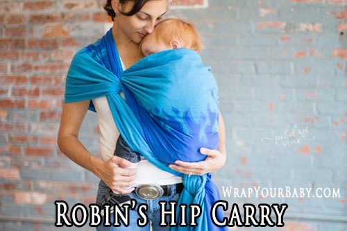 Robin's Hip Carry (RHC) with a Woven Wrap