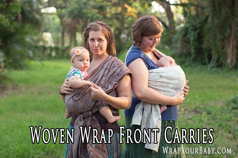 Woven Wrap Front Carry Database Wrap Your Baby
