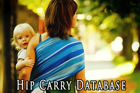 Woven Wrap Hip Carry Database Wrap Your Baby