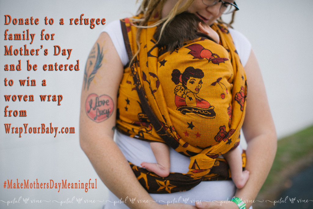 Baby Carriers for Refugees Mothers Day Giveaway