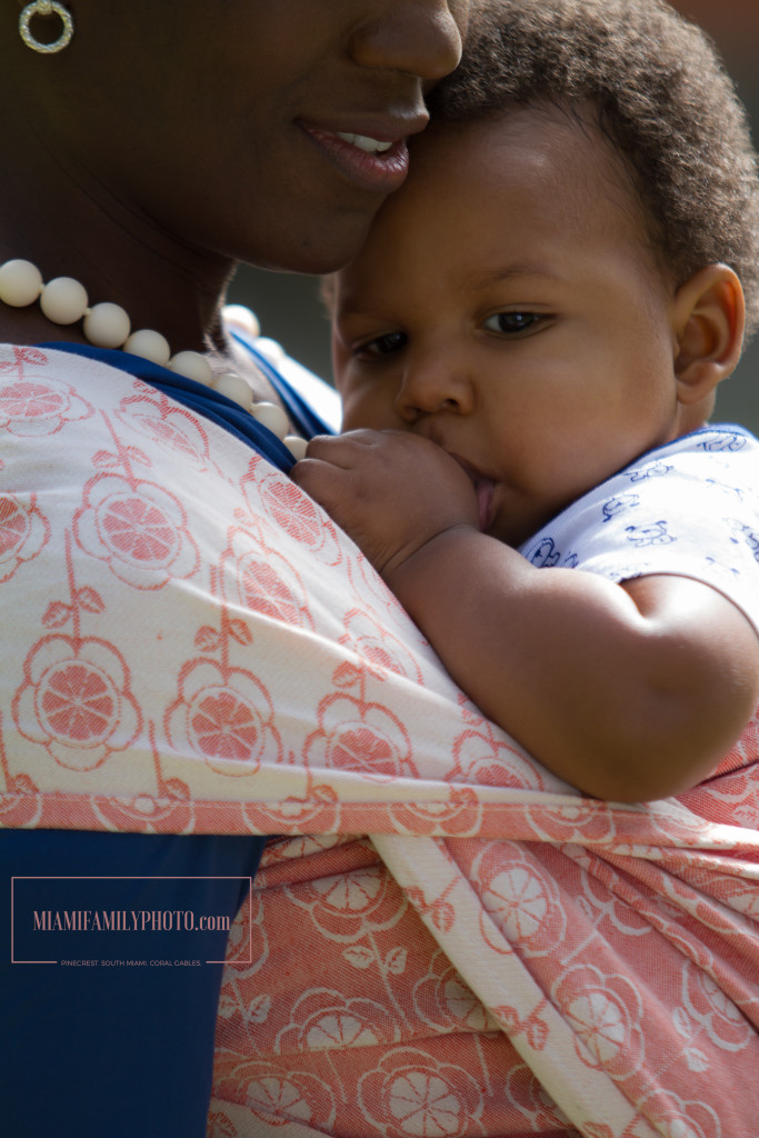 Natibaby Clementine linen blend Woven Wrap